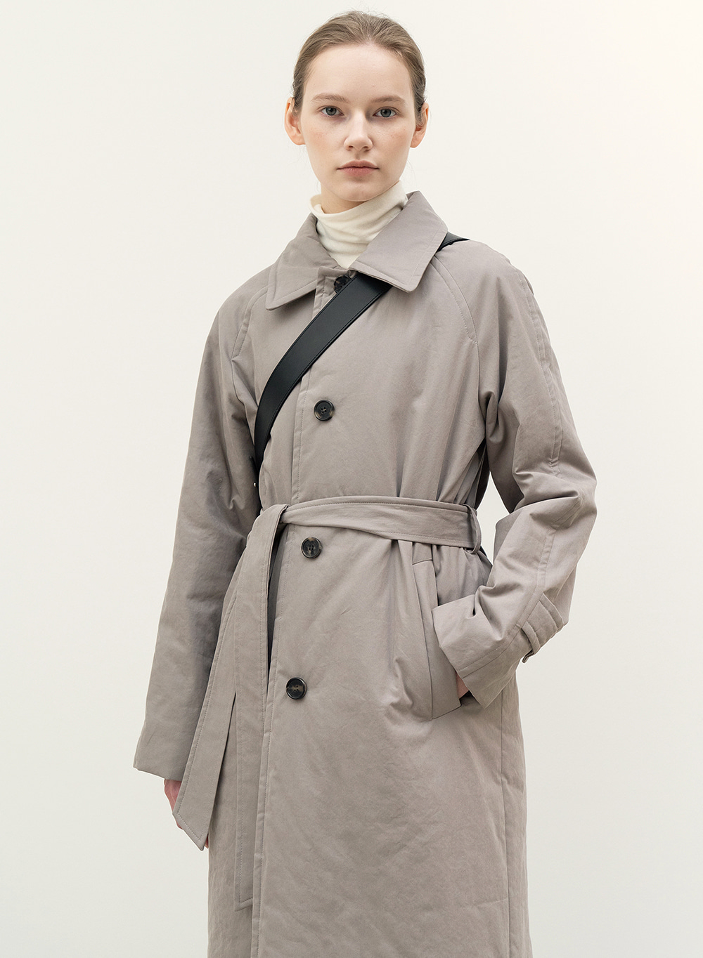 [9월23일 순차배송]FW20 Padded Utility Coat Sage-Green