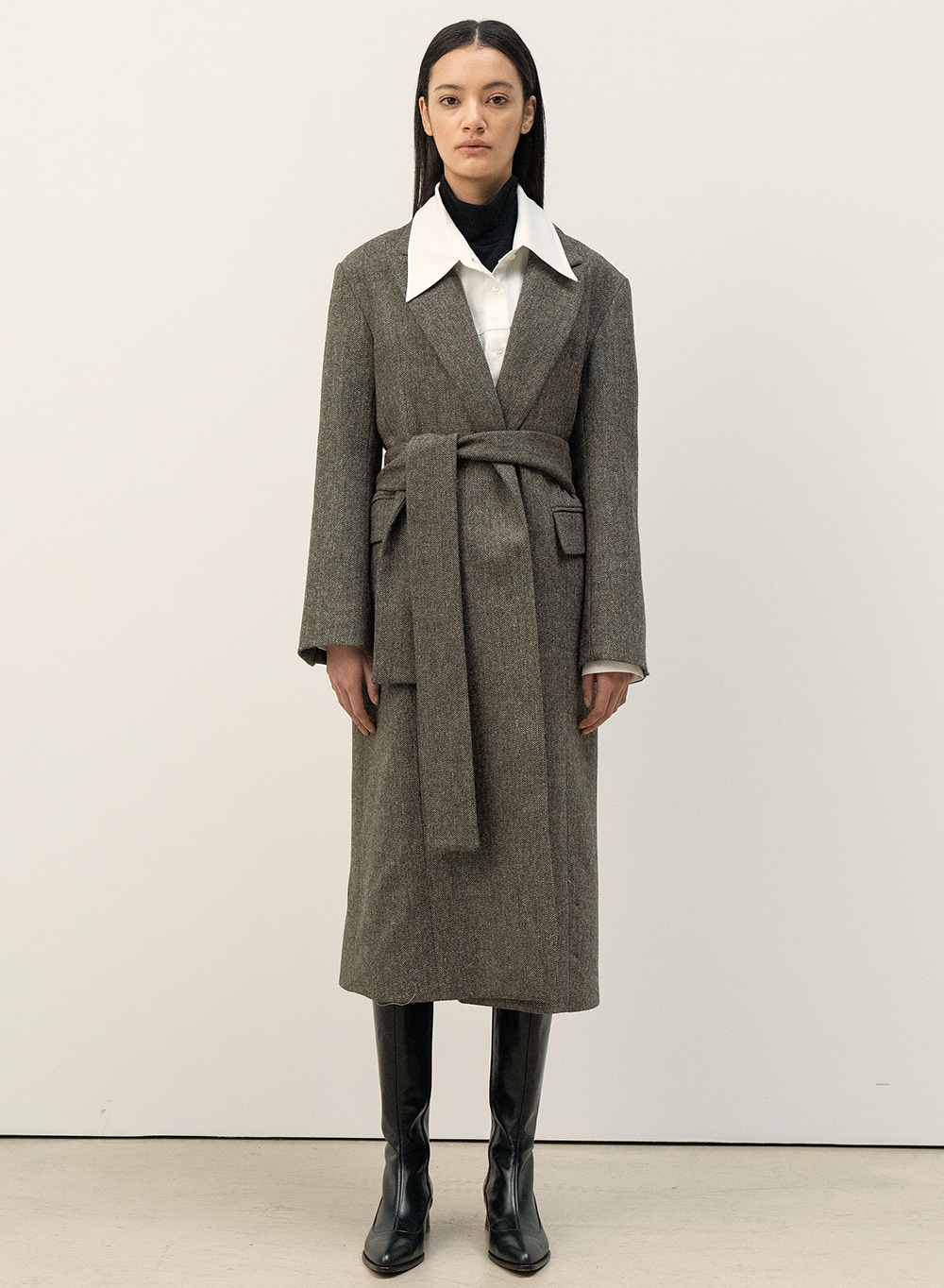 FW20 Marton Mills Wool Coat Forest