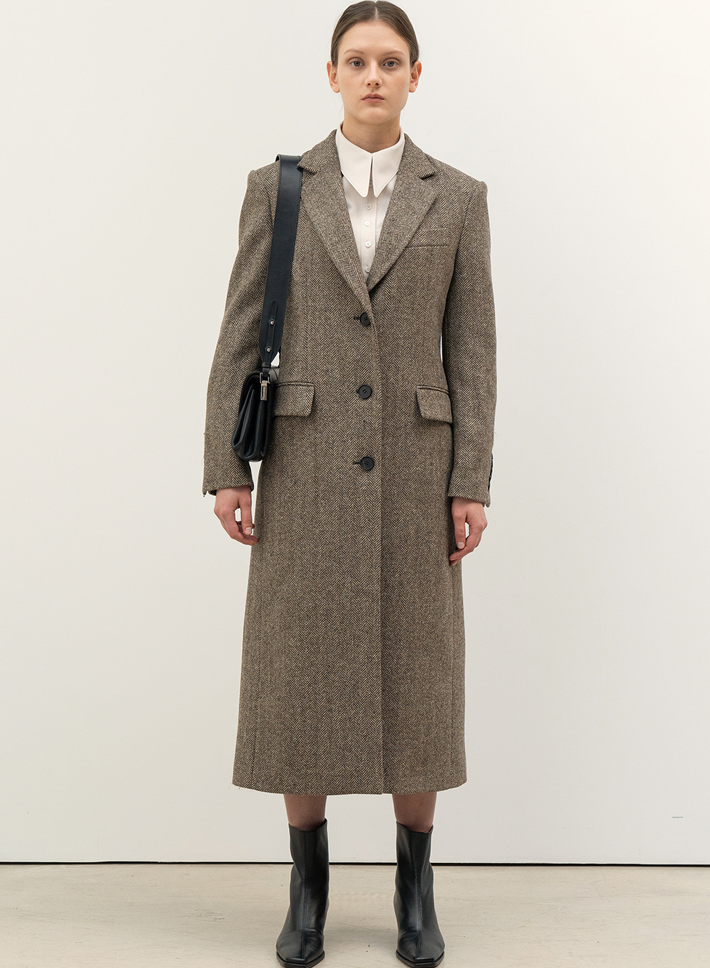 FW20 Moon British Single Coat Brown