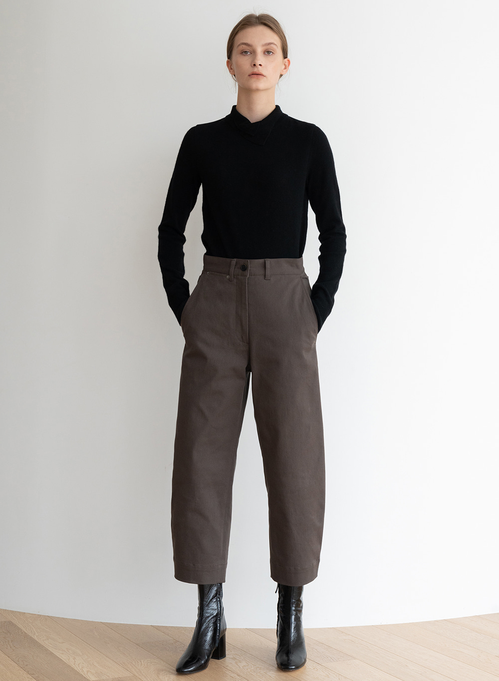 [ESSENTIAL] Chelsea Pants Brown